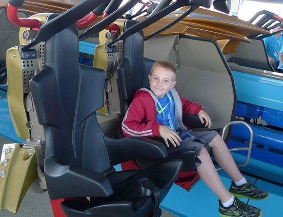 Boy in Seats at GateKeeper