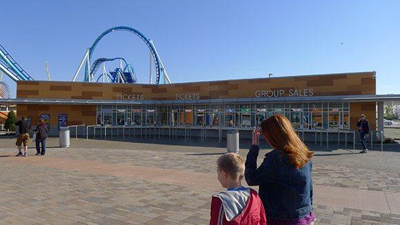 New TIcket Booths at Cedar Point