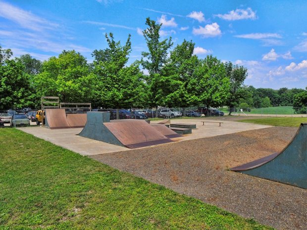 Clay's Park Resort offers an 8,000 sq-ft Skate and Bike Park for its guests.