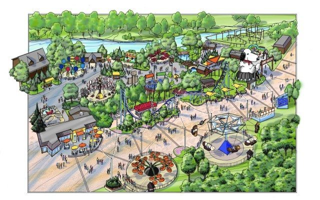 Midway Upgrades at Cedar Point 2014