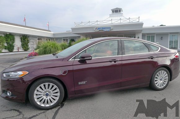 Ford Fusion Energi at Cape Codder