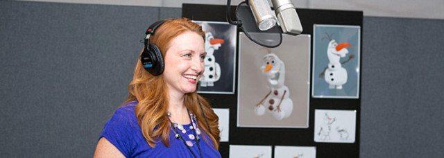 Disney FROZEN Voice Over of Olaf at DisneyAnimation Studios