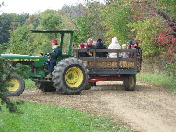Hayrides at Boyet's Farm