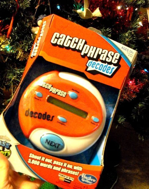 Catch Phrase Decades is still the same classic game.