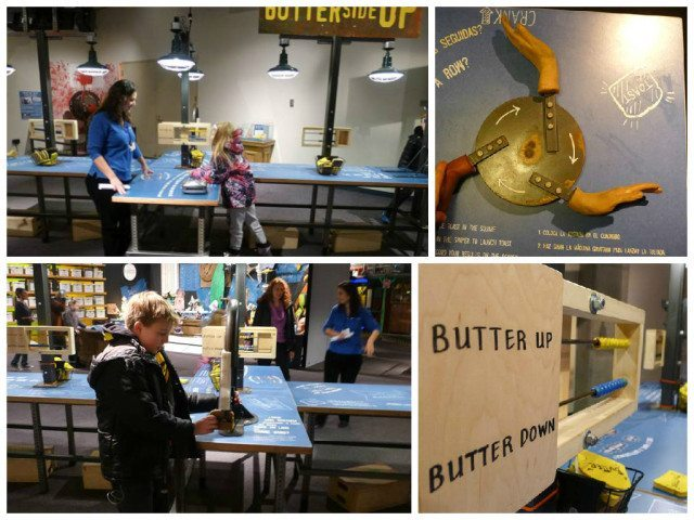 Great Lakes Science Center butter