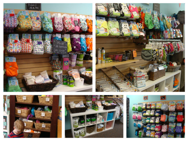 Cloth diapers galore!