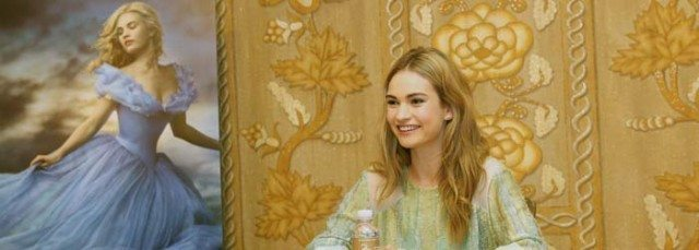 Lily James Interview for Cinderella movie