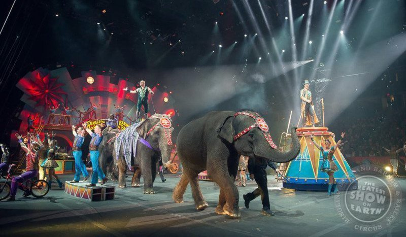 Ringling Brothers and Barnum and Bailey Circus Xtreme Review Cleveland