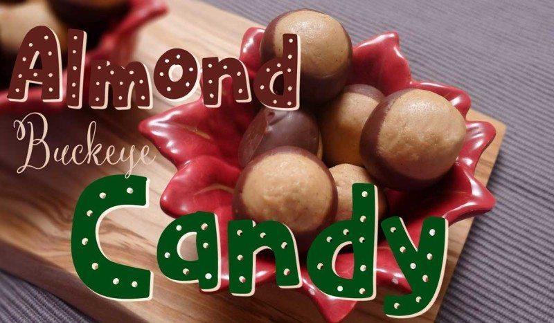 Almond Buckeye Candy Recipe