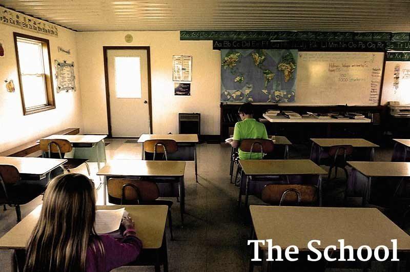 School-Room-Amish