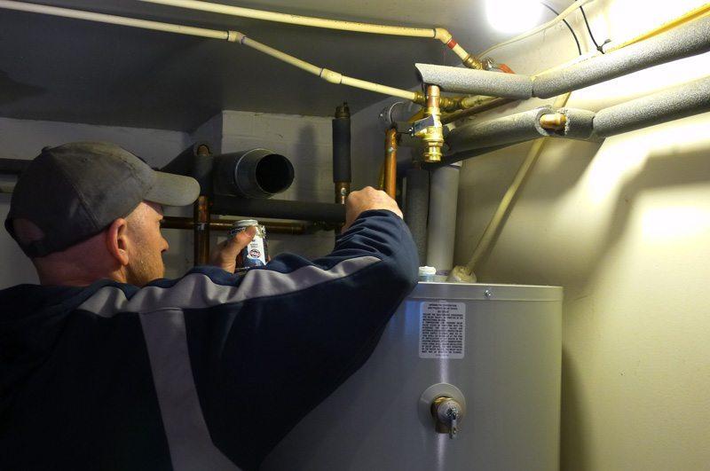 Professional Installation of Bradford White Hot Water Heater