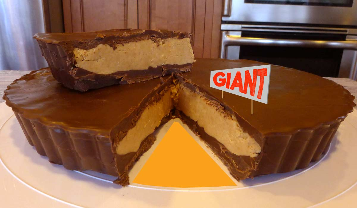 Easy Giant Peanut Butter Cup Recipe