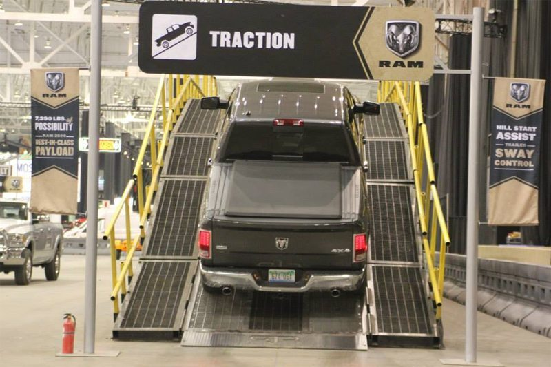 ram truck drive cleveland auto show