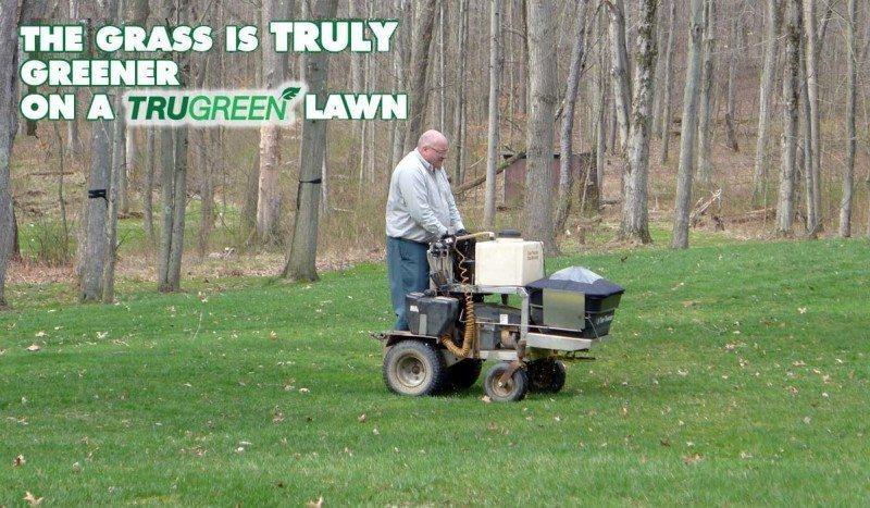 Grass is greener on the other side with TruGreen