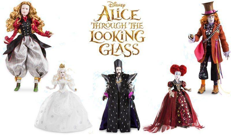 Disney's ALICE THROUGH THE LOOKING GLASS Dolls