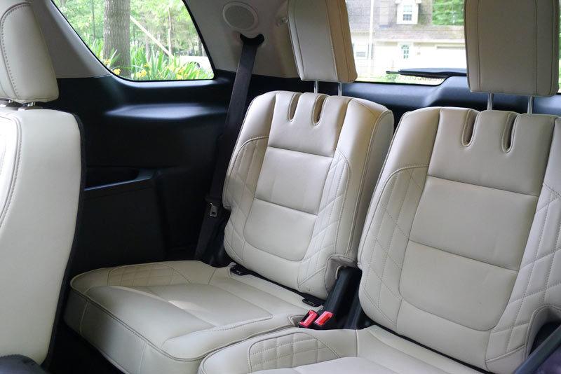 Ford Explorer Platinum third row seat
