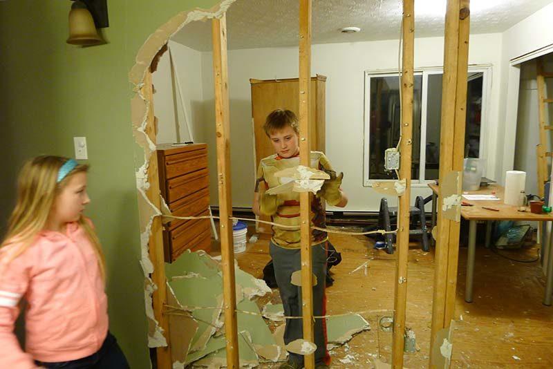 destruction-through-wall