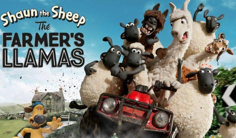 Shaun the Sheep and the FARMERS LLAMAS