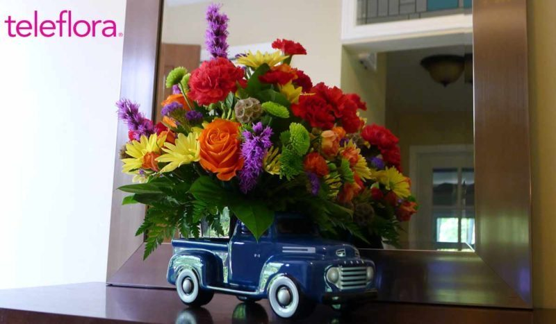 teleflora ford bouquet for Father's Day