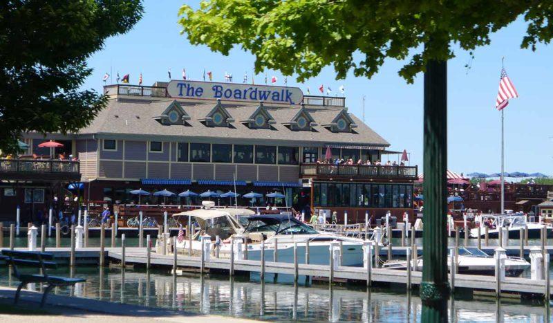 Boardwalk waterfront put-in-bay restaurant