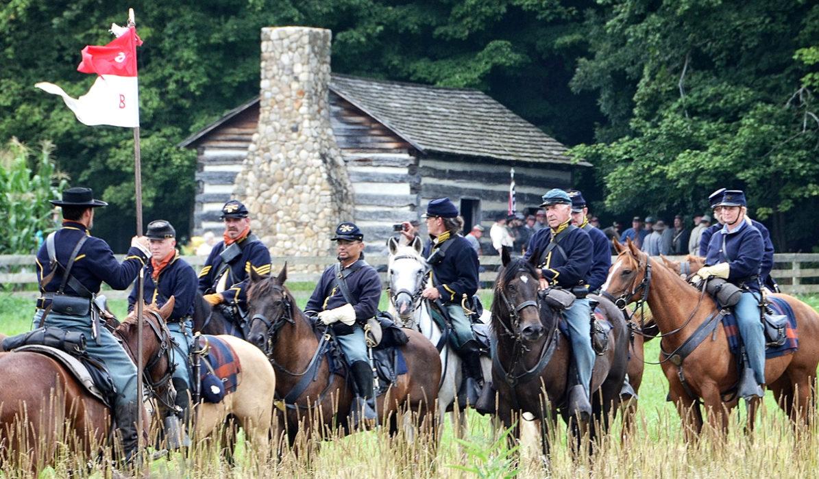 Civil War Reenactment at Hale Farm & Village