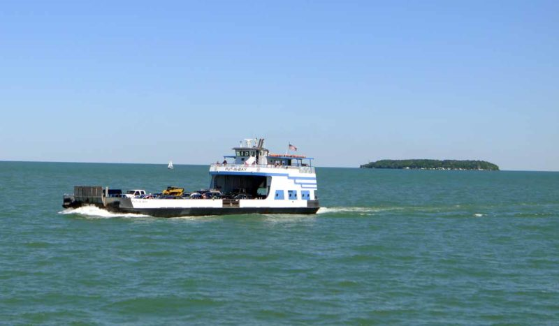when Miller Ferry leaves to Put-in-Bay