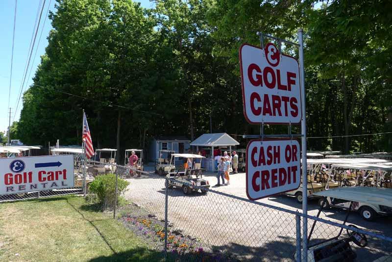 E's Golf Cart Rental in Put-in-Bay
