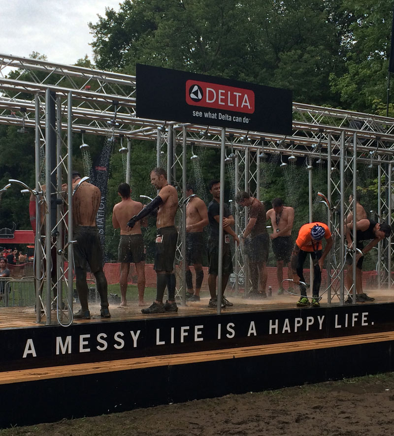 Delta Shower Station #HappiMess