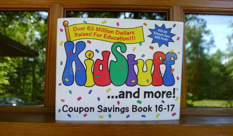 kidstuff coupon book