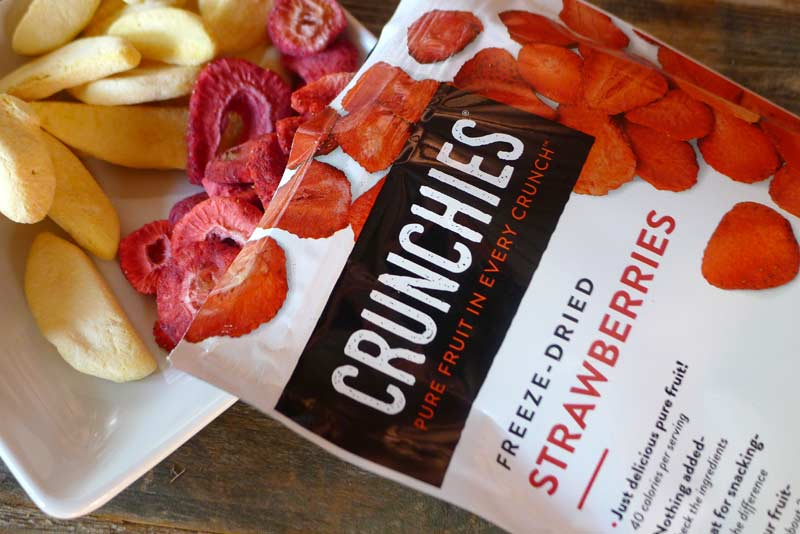 Crunchies Dried Fruit Review