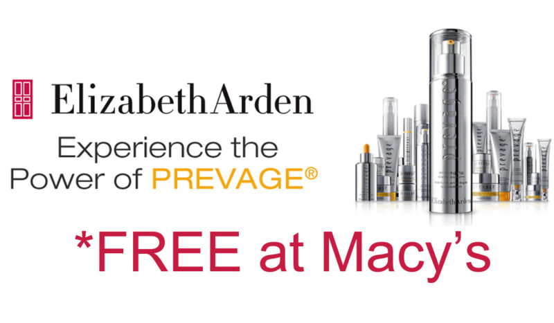 FREE Prevage at Macy's