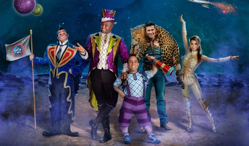 Ringling Bros. and Barnum & Bailey present Out Of This World Quicken Loans Arena