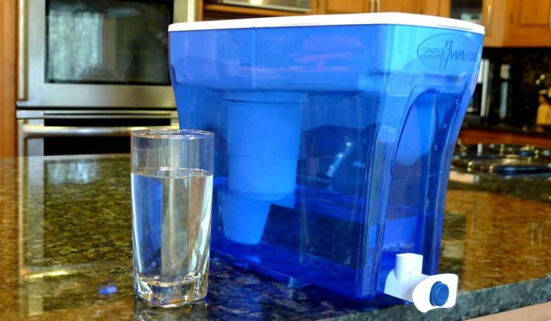 zerowater home water filter