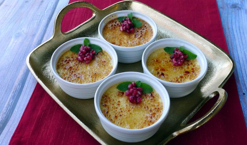 Eggnog Crème Brûlée Recipe