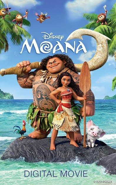 win moana movie