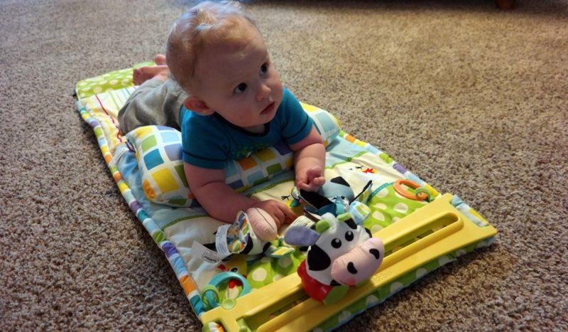 Yookidoo Tummy Time Play Mat
