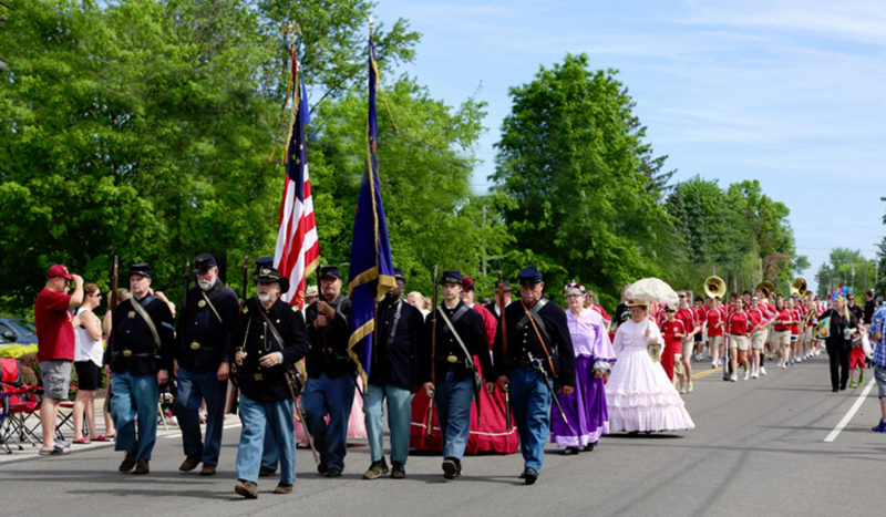 akron ohio memorial day parades 2017