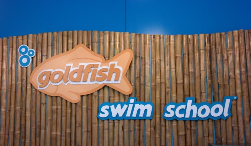 This is a sneak peek of the new Goldfish Swim School in Hudson, Ohio!