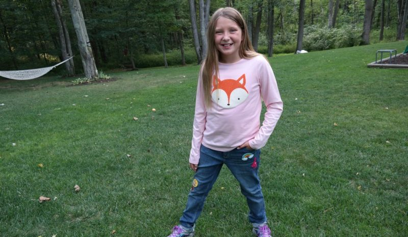Lands' End Girl Fashion Review