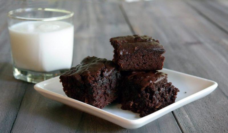 Sugar free brownie dessert