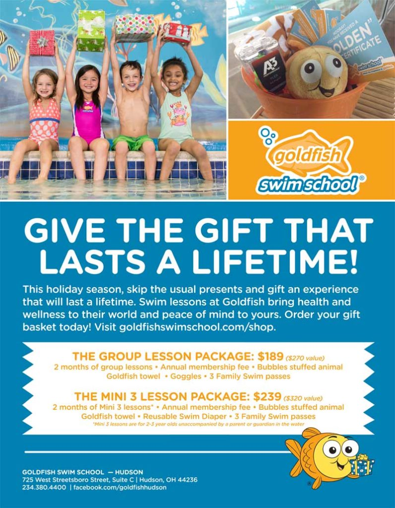 Hudson Goldfish Swim School Christmas Package