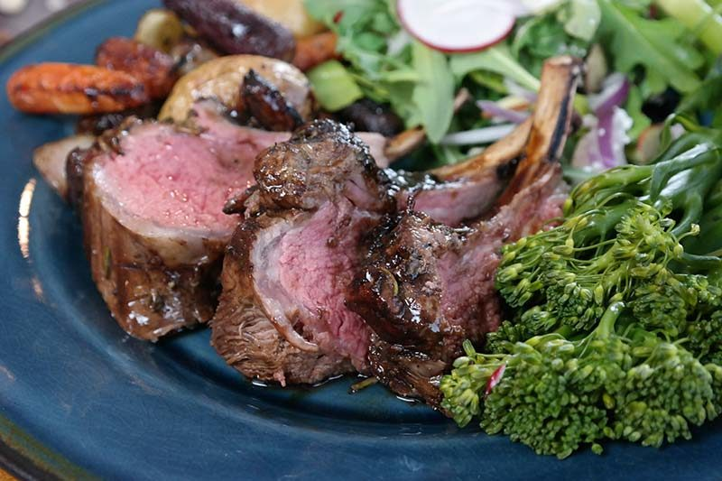 Traditional Easter Crown Roast of Lamb Menu from Whole Foods 365