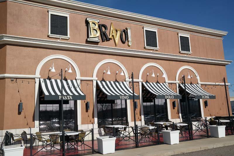 Bravo North Canton Ohio Build Your Own Combination