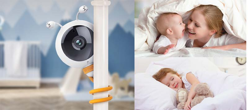 wisenet babyview eco baby monitor review