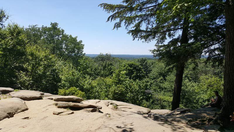 Virginia Kendall Ledges Scenic Overlook CVNP