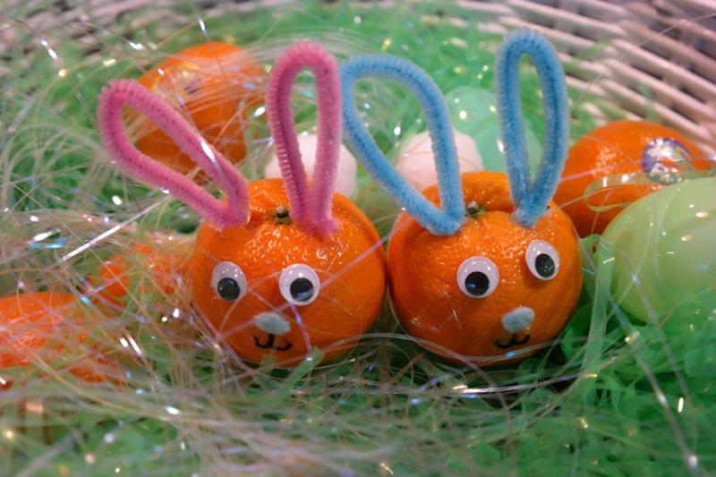 "Wonderful Halos ""DIY Easter Bunnies"" Craft"