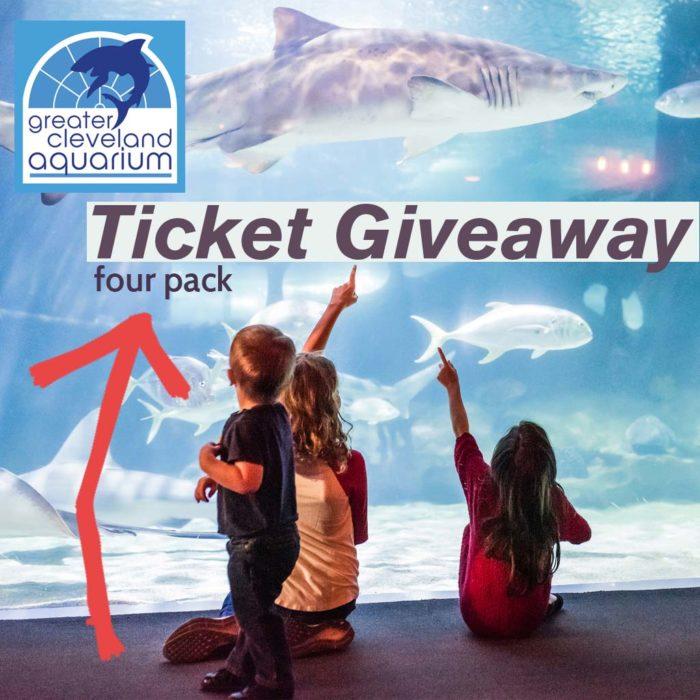 Greater Cleveland Aquarium giveaway