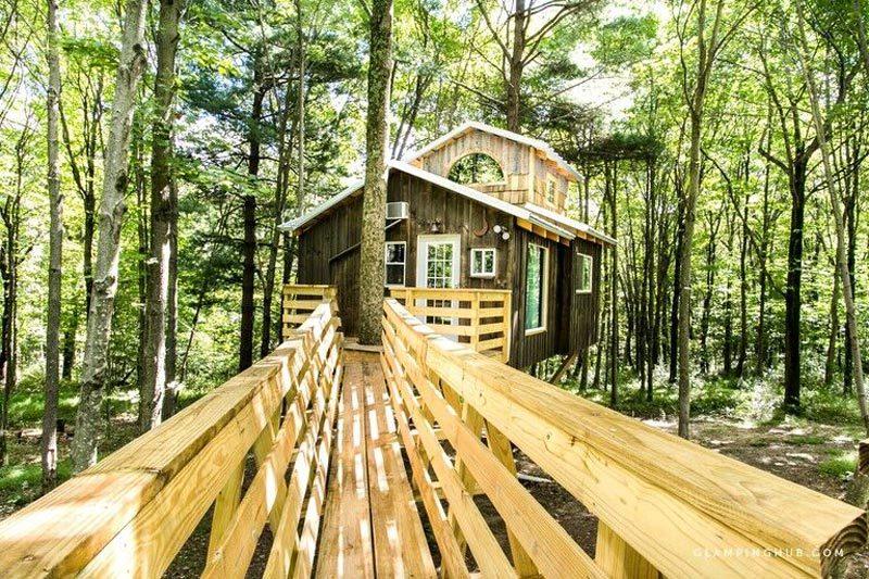 ohio treehouses
