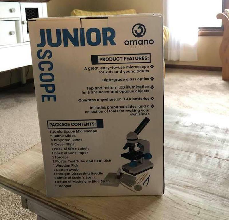 Omano Microscope junior scope review