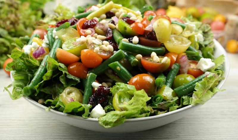 Green Bean Salad with Balsamic Basil Vinaigrette Recipe
